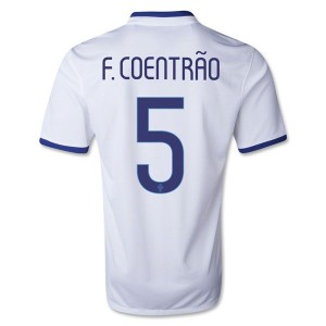 Camiseta Portugal de la Seleccion F Coentrao Segunda 2013/2014