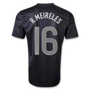 Camiseta del R Meireles Portugal de la Seleccion Segunda 2013/2014