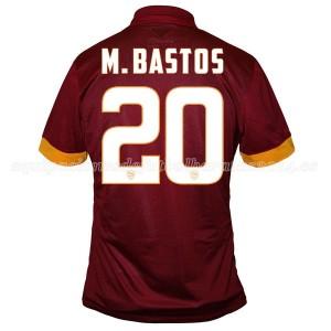 Camiseta nueva del AS Roma 2014/2015 Equipacion M.Bastos Primera