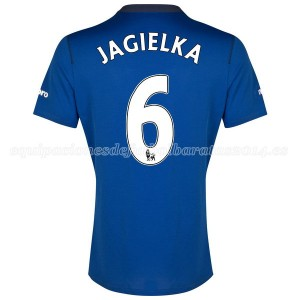 Camiseta Everton Jagielka 1a 2014-2015