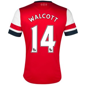 Camiseta nueva del Inglaterra de la Seleccion 2013/2014 Walcott Primera
