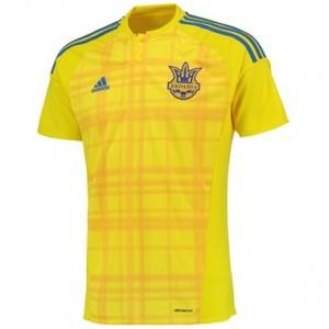 Camiseta de Ucrania 2016 Primera Equipacion