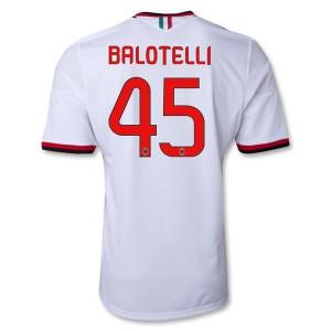 Camiseta nueva del AC Milan 2013/2014 Equipacion Balotelli Segunda