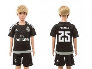 Camiseta Real Madrid goalkeeper 25 2015/2016 Ninos
