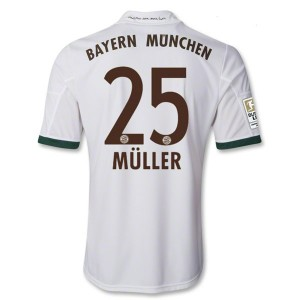 Camiseta nueva del Bayern Munich 2013/2014 Equipacion Muller Tercera
