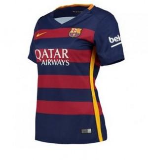 Mujer Camiseta del Barcelona Primera Equipacion 2015/2016