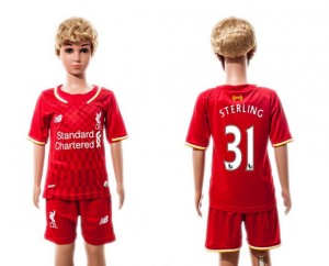Camiseta nueva Liverpool Ninos 31 2015/2016