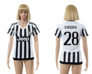 Camiseta nueva Juventus Mujer 28 2015/2016