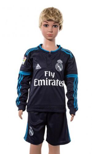 Camiseta Real Madrid Manga Larga 2015/2016 Ninos