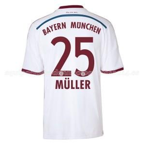 Camiseta del Muller Bayern Munich Segunda Equipacion 2014/2015