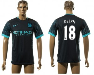 Camiseta de Manchester City Away 18# aaa version