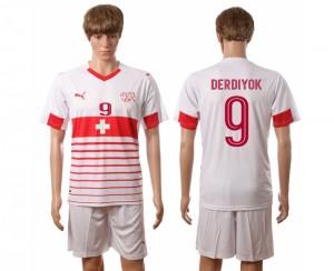 Camiseta nueva del Suiza 2016/2017 Nombre DERDIYOK
