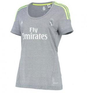 Camiseta nueva del Real Madrid 2015/2016 Equipacion Mujer Segunda
