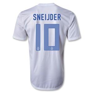 Camiseta nueva del Holanda 2013/2014 Sneijder Segunda