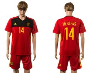 Camiseta nueva Belgium 14# 2015-2016