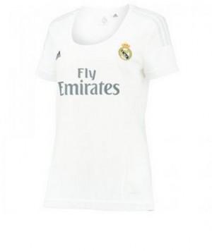 Camiseta de Real Madrid 2015/2016 Primera Equipacion Mujer
