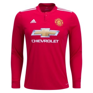 Camiseta del Manchester United Home Long Sleeve 2017/2018