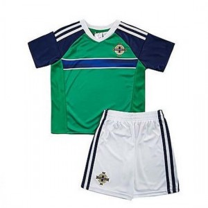 Camiseta IRLANDA DEL NORTE VERDE Primera 2016 Ninos