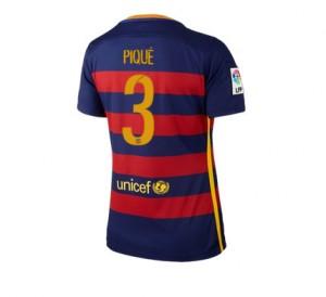 Camiseta nueva del Barcelona 2015/2016 Equipacion Numero 03 Mujer Primera