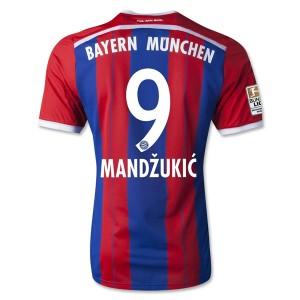Camiseta del Mandzukic Bayern Munich Primera Equipacion 2014/2015