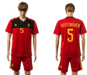 Camiseta nueva Belgium 5# 2015-2016