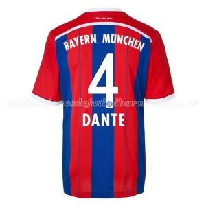 Camiseta del Dante Bayern Munich Primera Equipacion 2014/2015