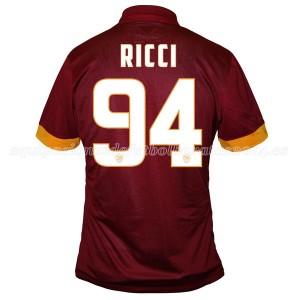 Camiseta nueva del AS Roma 2014/2015 Equipacion Ricci Primera