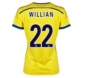 Mujer Camiseta del Chelsea Segunda Equipacion 2014/2015