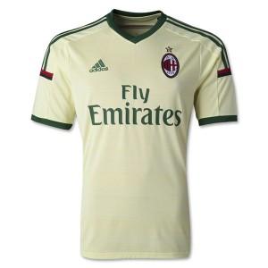 Camiseta nueva del AC Milan 2014/2015 Tailandia Tercera