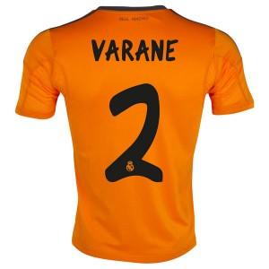 Camiseta Real Madrid Varane Tercera Equipacion 2013/2014