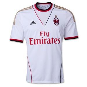 Camiseta nueva AC Milan Tailandia Segunda 2013/2014