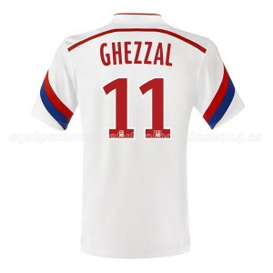 Camiseta nueva del Lyon 2014/2015 Ghezzal Primera