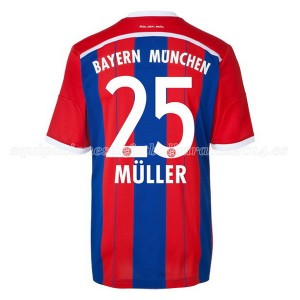 Camiseta de Bayern Munich 2014/2015 Primera Muller Equipacion