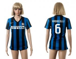 Camiseta nueva del Inter Milan 2015/2016 6 Mujer