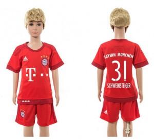 Ninos Camiseta del 31 Bayern Munich Home 2015/2016