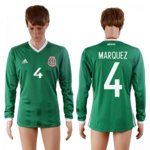 Camiseta nueva Mexico 4# 2016-2017