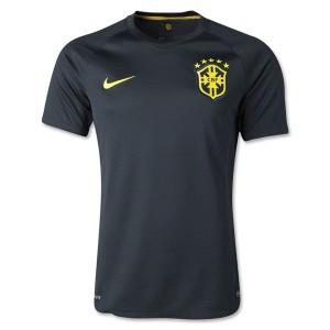 Camiseta Brasil de la Seleccion Tercera WC2014
