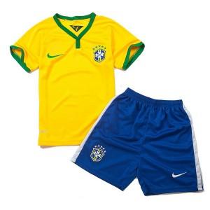 Nino Camiseta del Brasil de la Seleccion Primera WC2014