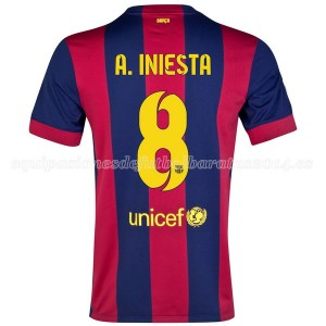 Camiseta Barcelona A.Iniesta Primera 2014/2015