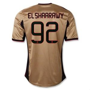 Camiseta AC Milan El Shaarawy Tercera Equipacion 2013/2014
