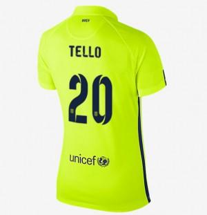 Camiseta nueva del Barcelona 2013/2014 Cuenca Segunda