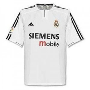 Camiseta de Real Madrid 2004/2005 Tailandia 1a