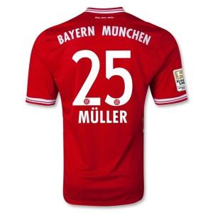 Camiseta Bayern Munich Muller Primera Equipacion 2013/2014