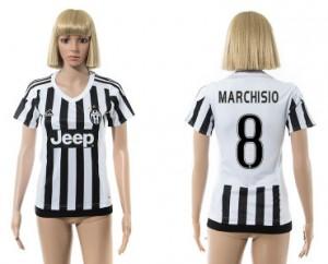 Camiseta nueva del Juventus 2015/2016 8 Mujer