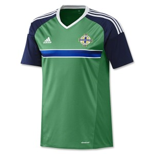 Camiseta de Irlanda del Norte 2016/2017