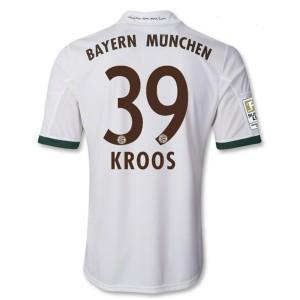 Camiseta del Kroos Bayern Munich Tercera Equipacion 2013/2014