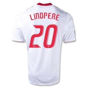 Camiseta del Lindpere Red Bulls Primera Equipacion 2013/2014