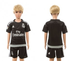 Camiseta nueva Real Madrid Ninos goalkeeper 2015/2016