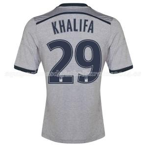 Camiseta Marseille Khalifa Segunda 2014/2015