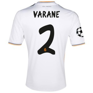 Camiseta del Varane Real Madrid Primera Equipacion 2013/2014